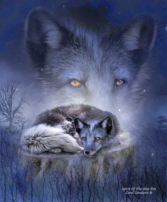 Spirit Of The Blue Fox