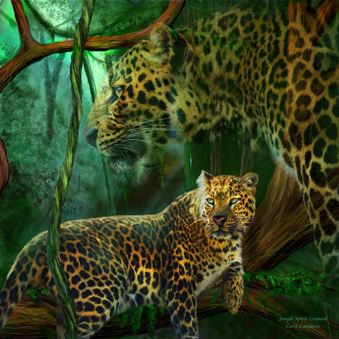 Jungle Spirit Leopard