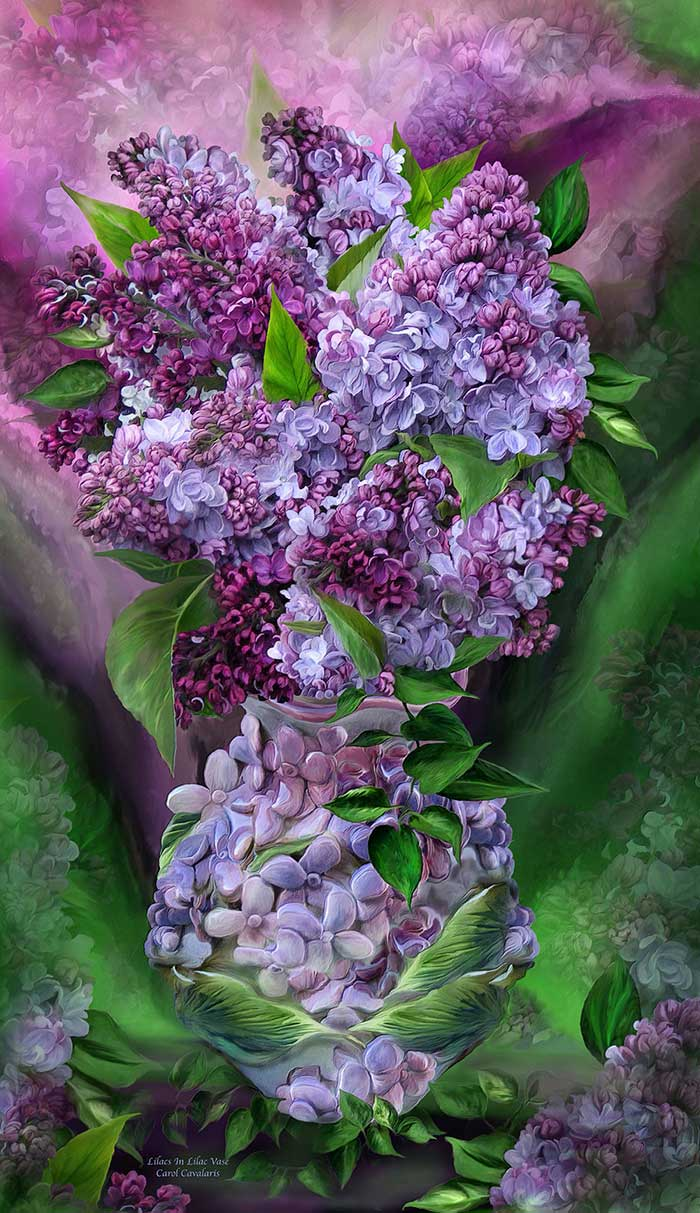 Lilacs In Lilac Vase