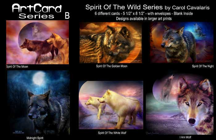 Spirit Of The Wild Art Cards
