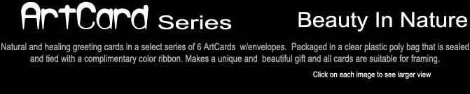 Beauty In Nature Art Cards