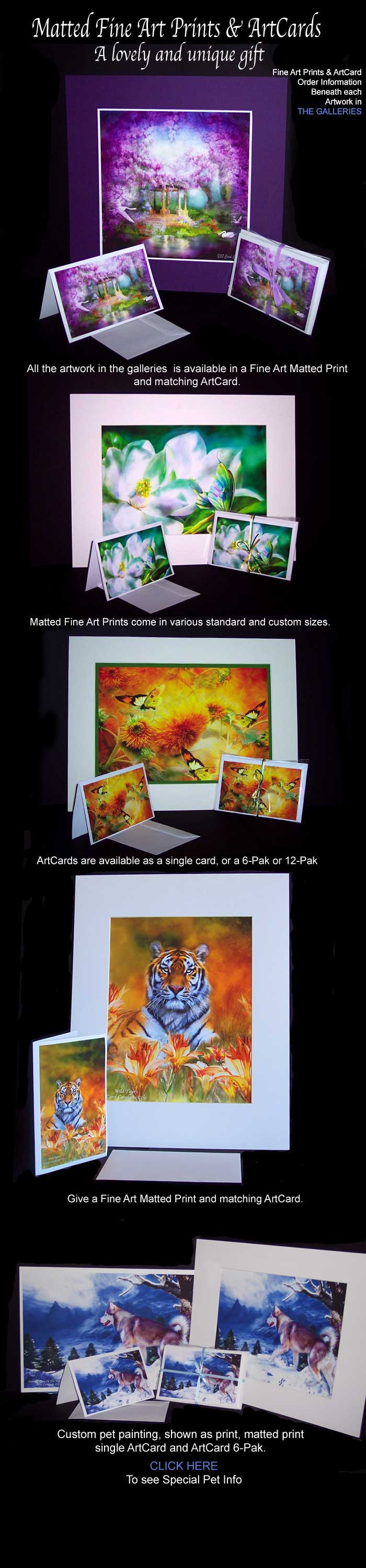 Matted Fine Art Prints